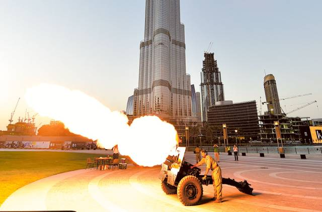 The story behind the Ramadan Cannon that will fire in the UAE from today!