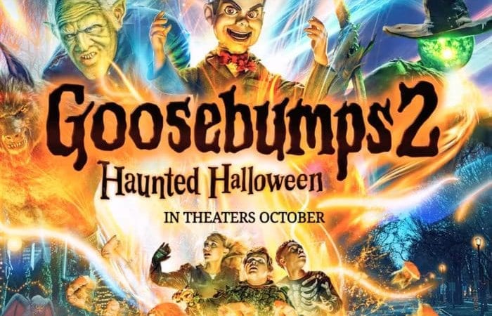Goosebumps movie is out tomorrow!