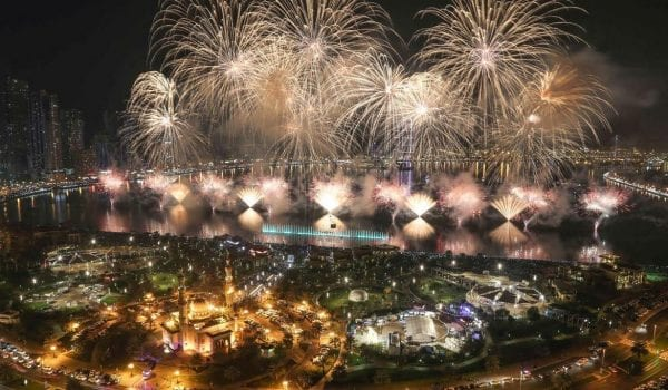 Fireworks in Sharjah tonight!